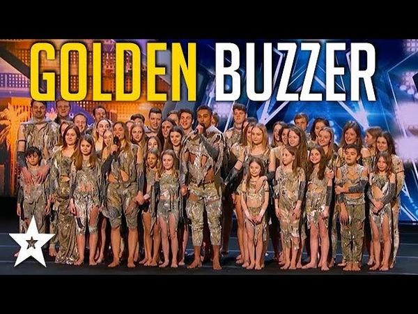 Sensational Dance Crew Get Tyra Banks GOLDEN BUZZER on Americas Got Talent | Got Talent Global