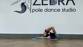 Very flexible girl | Valeria Martsenyuk | Gymnastics |Zebra Pole Dance studio