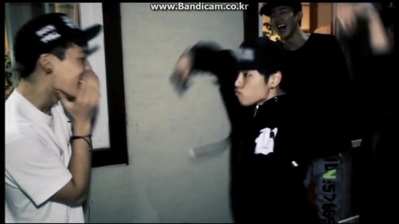 Two Bears: Танцевальный батл - iKON и Ханбин