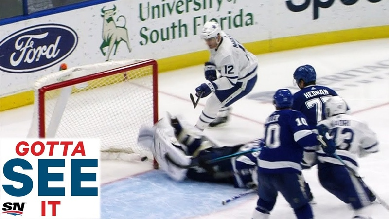 GOTTA SEE IT Vasilevskiy Makes Unbelievable Stop With Skate For Save Of The Year