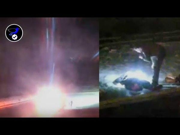 Yellowstone UFO Crash ! Bright Sphere Explodes, Strange Dead Body, UFO Descends! April 21,2018