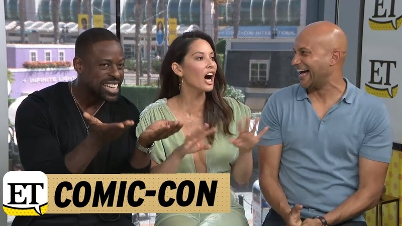 Comic-Con 2018: Olivia Munn, Keegan-Michael Key, And Sterling K. Brown Talk The Predator