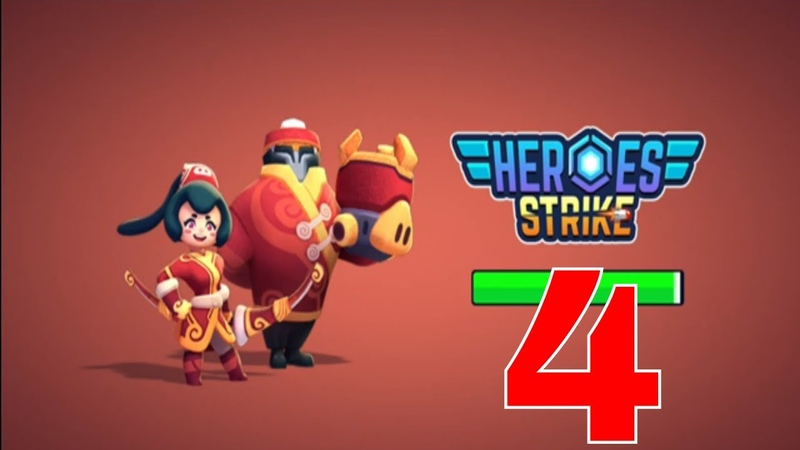 Heroes Strike - 3v3 Moba Brawl Shooting IOS-Android-Review-Gameplay-Walkthrough-Part 4