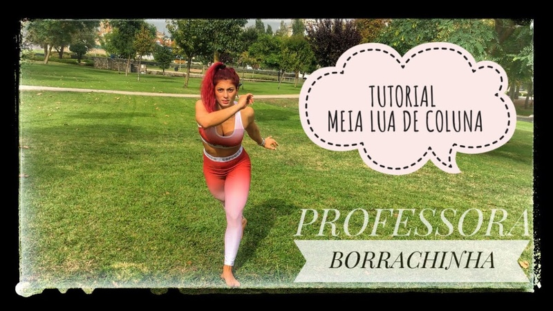 Tutorial Meia Lua de Coluna - Capoeira Borrachinha