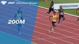 Michael Norman 19.84 Wins Men's 200m - IAAF Diamond League Paris 2018