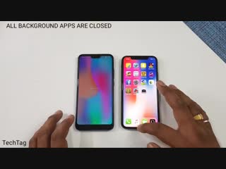 Honor 10 vs iPhone X Speed Test Comparison _ Shocking Results