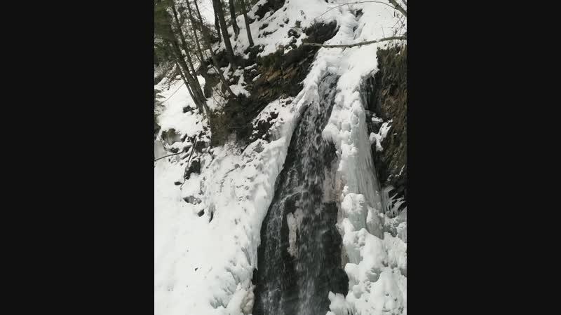 Водопад Гук Яремче Украина