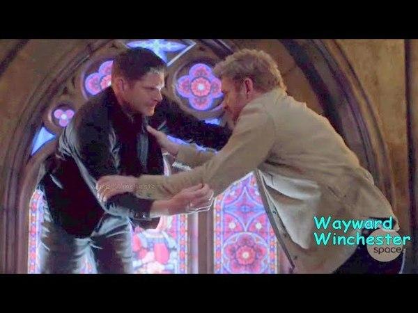 Supernatural 13x23 Dean VS Lucifer Mortal Kombat
