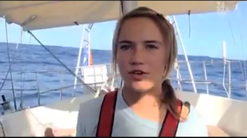 Кругосветное плавание 15 ти летней Лауры Деккер Обязательно к просмотру