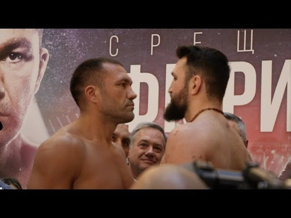 VERY HOSTILE IN BULGARIA! - KUBRAT PULEV v HUGHIE FURY *FULL UNCUT* WEIGH IN VIDEO (SOFIA)