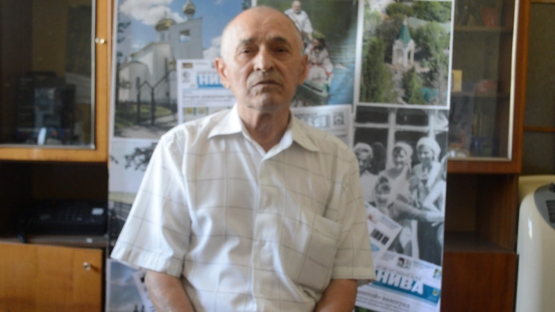 Пенсионер, бывший начальник отдела внутренних дел Новоусманского райисполкома Касьянов Александр Андреевич