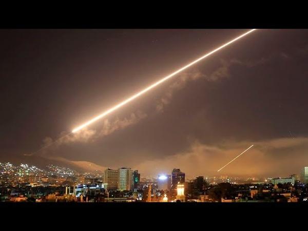 Sucedió hoy: Damasco bajo ataque aéreo