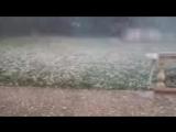 عاصفة برد   في chazelles, charente, فرنسا 4_7_2018