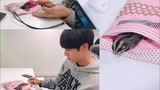 kim seok jin and his sugar gliders Eomuk &amp Odengie