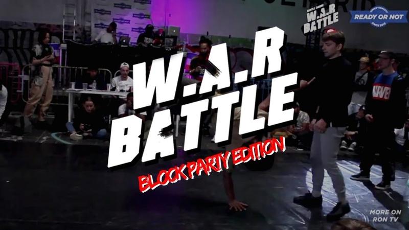 W.A.R BATTLE 2018 | Finale Break | Salomon V.S Mega Joker
