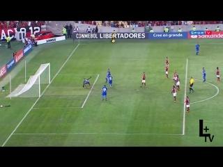 Flamengo 0 x 2 Cruzeiro - Gols  Melhores Momentos COMPLETO - Libertadores 2018