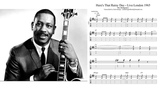 Wes Montgomery - Here's That Rainy Day Live London 1965 Full Transcription