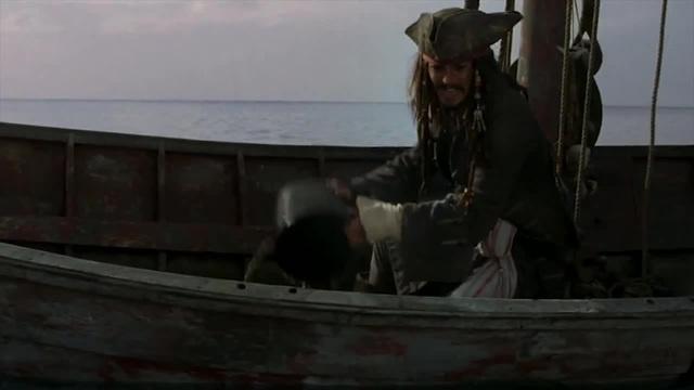 Pirates Straw Hat Captain Jack Sparrow · coub коуб