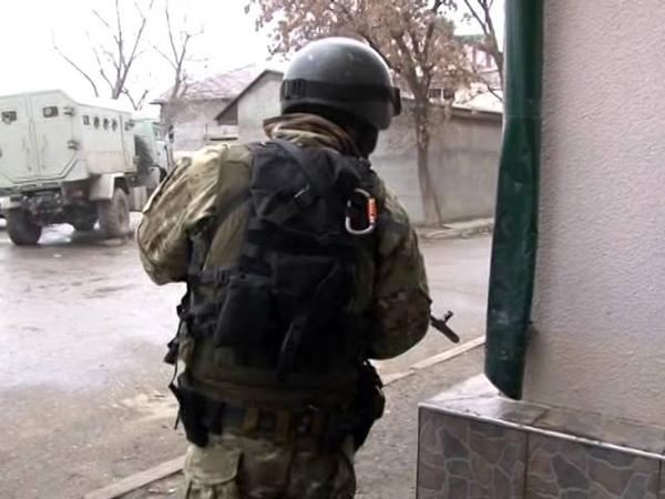 Спецоперация УФСБ и МВД РД В Хасавюрте 02 01 14