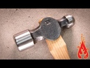 Blacksmithing - Making a ball peen hammer