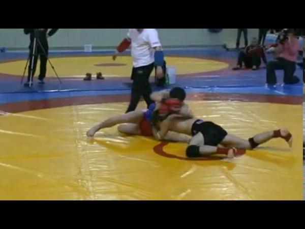 Открытый Чемпионат Москвы по панкратиону 2010. Марат Магомедов-Али Багаутинов.