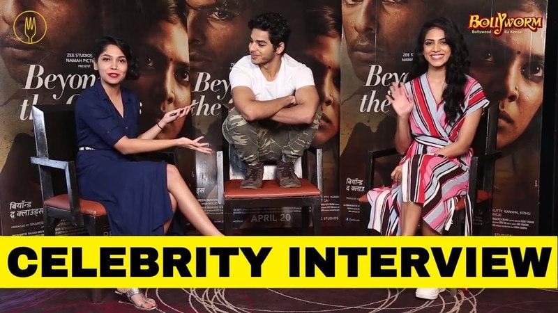 Ishaan Khatter Malavika Mohanan In Conversation Beyond The Clouds Celebrity Interview