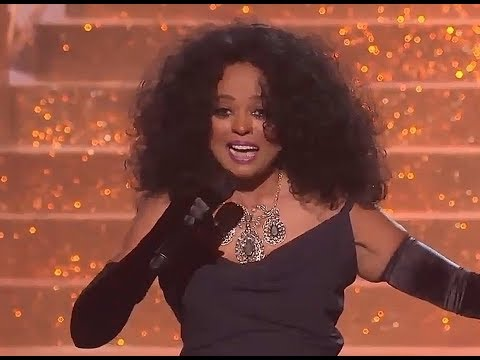 Diana Ross AMA 2017 Im Coming Out-Aint No Mountain High Enough Live