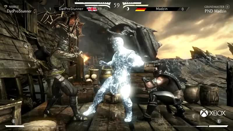 [THUNDERONE] Mortal Kombat X EU Tournament [Week 4] - Madzin VS DatProStunner!