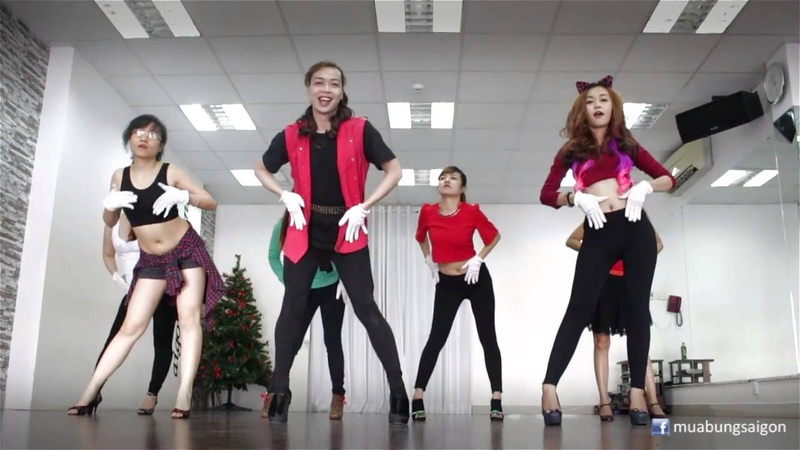 Jingle Bells Rock - Hilary Duff | Lớp học Sexy Dance by Mr. Dâu | SaigonBellydance