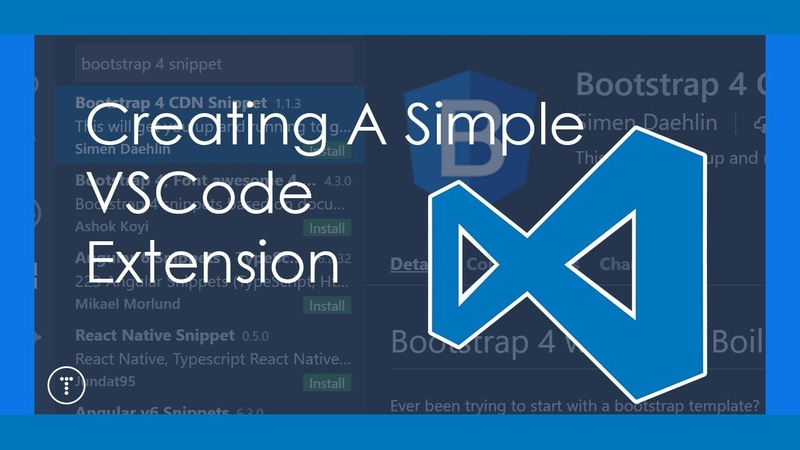 Creating A Simple VSCode Extension