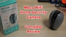 Smart Home Gadgets Meco WiFi Home Security Camera