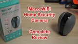 Smart Home Gadgets Meco WiFi Home Security Camera