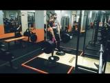 Сабина тяга 170 кг на 2 раза!
