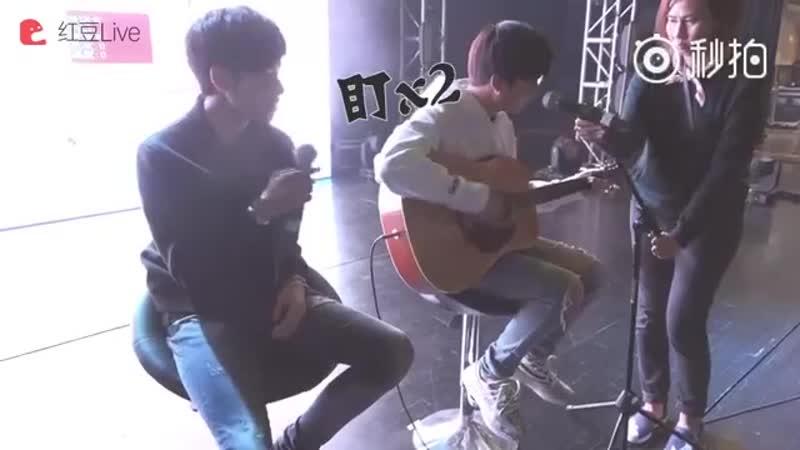 คริส-สิงโต (Krist-Singto) - Backstage-Onstage Mix 2 Fanmeet in Suzhou - 170422
