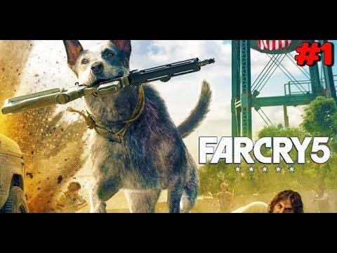 Stream FARCRY 5 первый взгляд прохождение ►ИграВирус стрим в 60 fps обзор игры на стриме часть 1