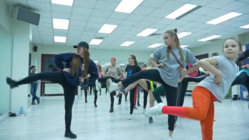 SMETANA NINJA Мастер класс по Vogue Inspiration Dance Fest 2018 Красноярск