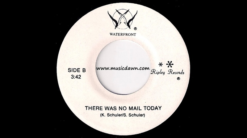 Waterfront - There Was No Mail Today [Ripley] 1980 Obscure Folk Yacht Rock 45