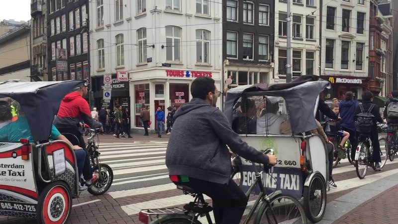Bikers and loathing in Amsterdam