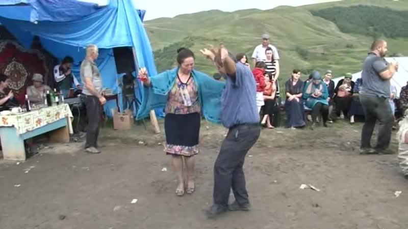 Мощная сельская свадьба в Дагестане