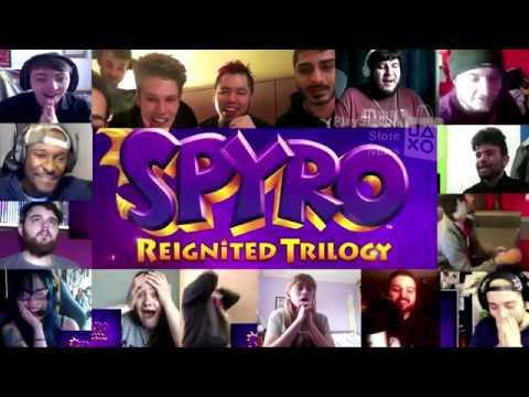 Spyro Reignited Trilogy Reveal Trailer - Reactions Mashup