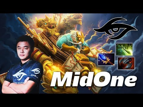Secret.MidOne Top 1 Rank Gyrocopter 7.16 Patch Dota 2