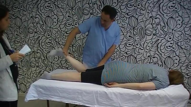 Тест мышц задней поверхности бедра | Фрагмент семинара