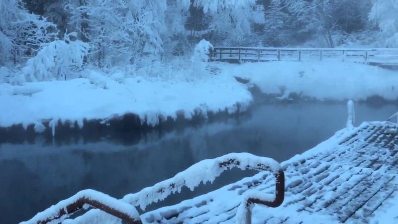 Дальнобой горячие источники по дороге на Аляску