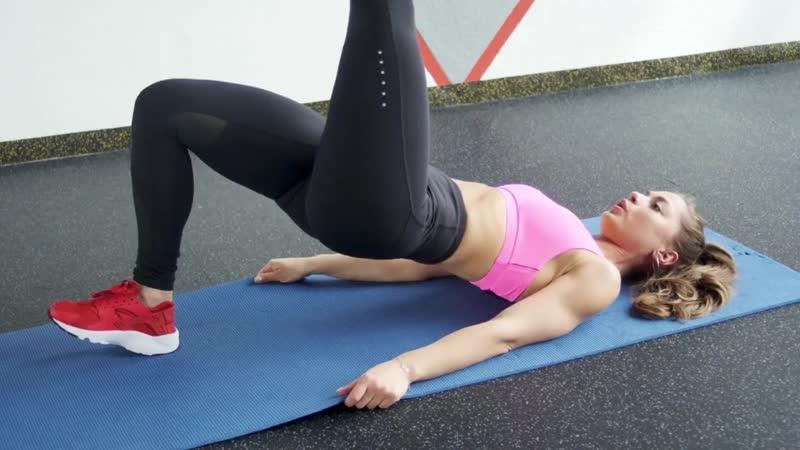 Тренировка супер ягодиц. Упражнения для дома