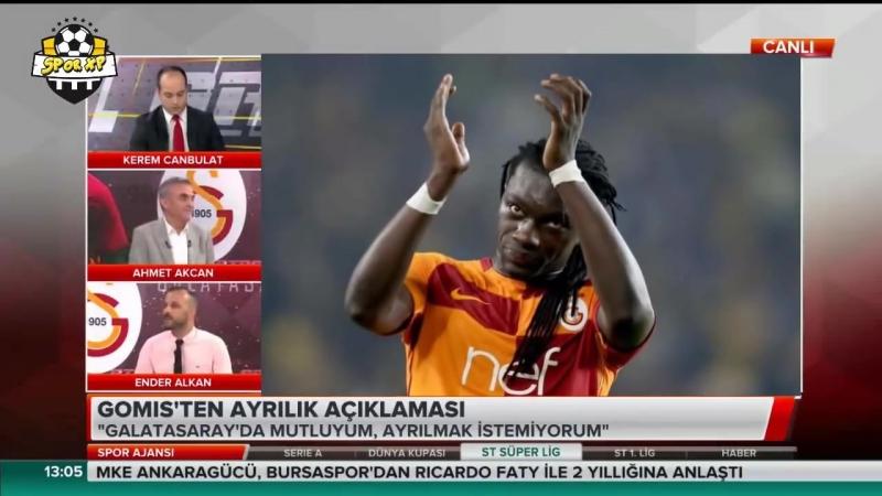 Galatasarayın Golcüsü Bafetimbi Gomis Gidecek mi ؟ Kalacak mı ؟ Açıkladı