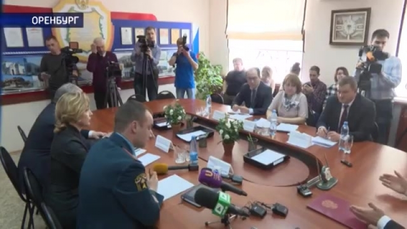 Власти Оренбурга с прокуратурой МЧС и общественниками проверили места массового скопления людей
