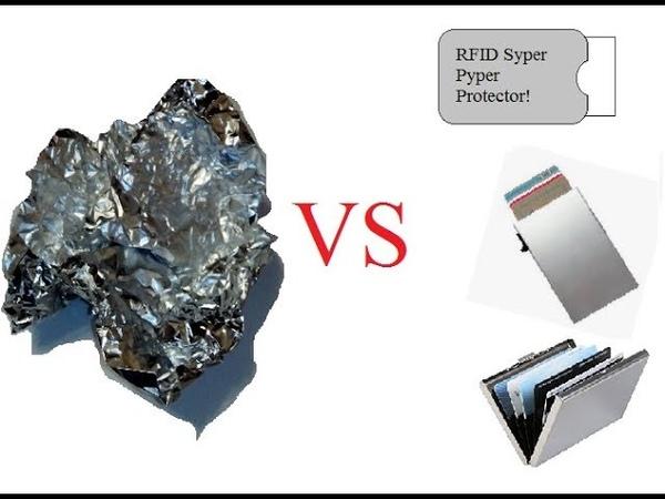 Защита RFID карточек