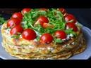 Кабачковый торт. Торт Фазенда. Блюда из кабачков. Простые рецепты. Праздничные закуски.