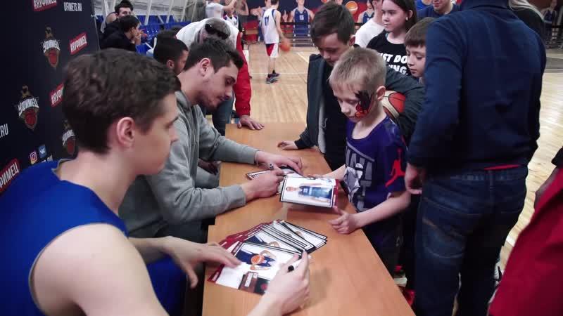 Отчётный ролик о «Дне болельщика» баскетбольного клуба «Уфимец» 2019