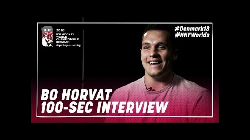 100 Seconds of Questions: Bo Horvat
